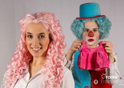 Juf Sas & Clown Flop