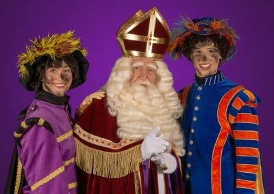 Bezoek van TV Sinterklaas Bartho Braat