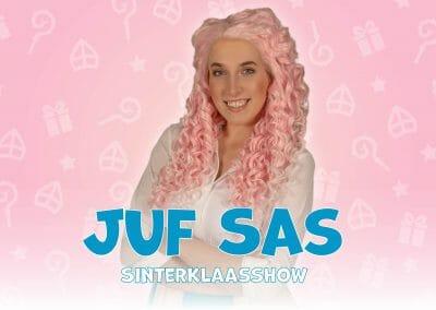 Juf Sas Sinterklaasshow