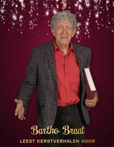 Bartho Braat leest kerstverhalen voor