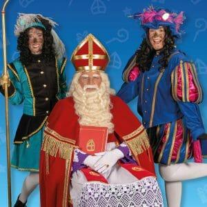 Bij Sinterklaas op bezoek in Amstelveen
