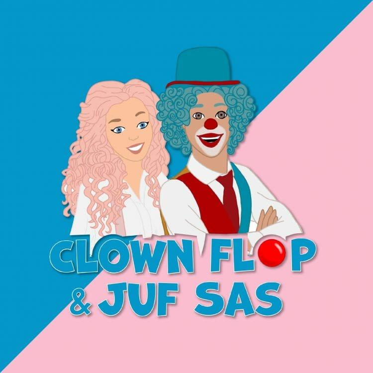 Clown Flop & Juf Sas afleveringen