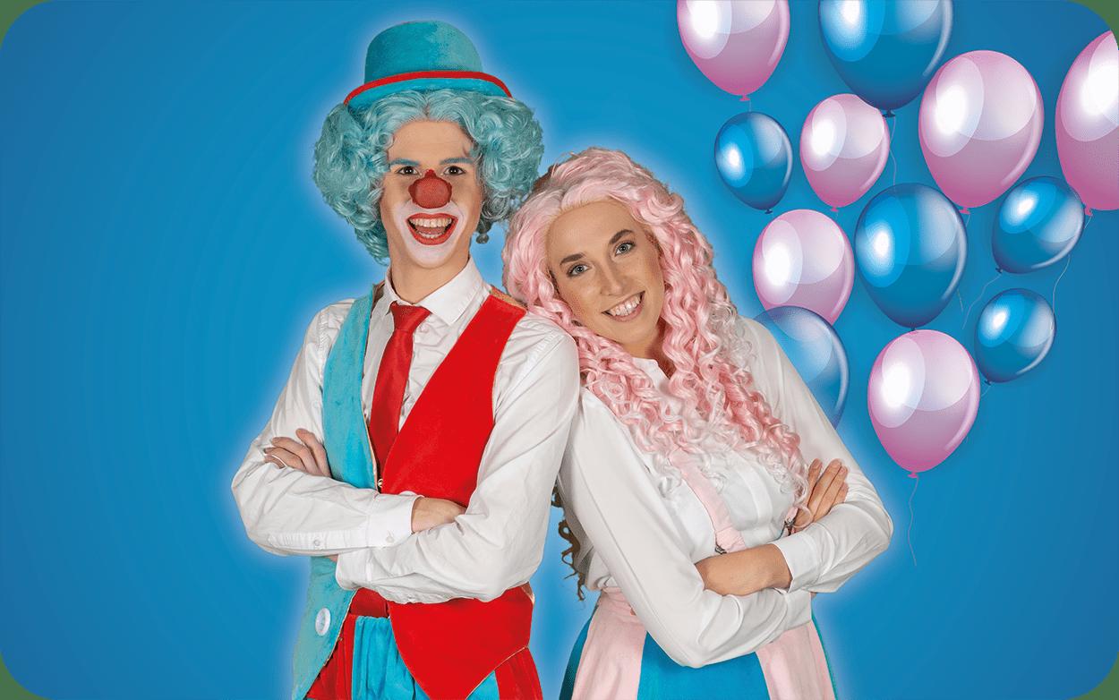 Clown Flop & Juf Sas show