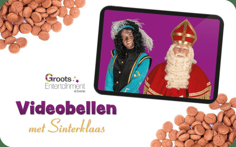 Live videobellen met Sinterklaas