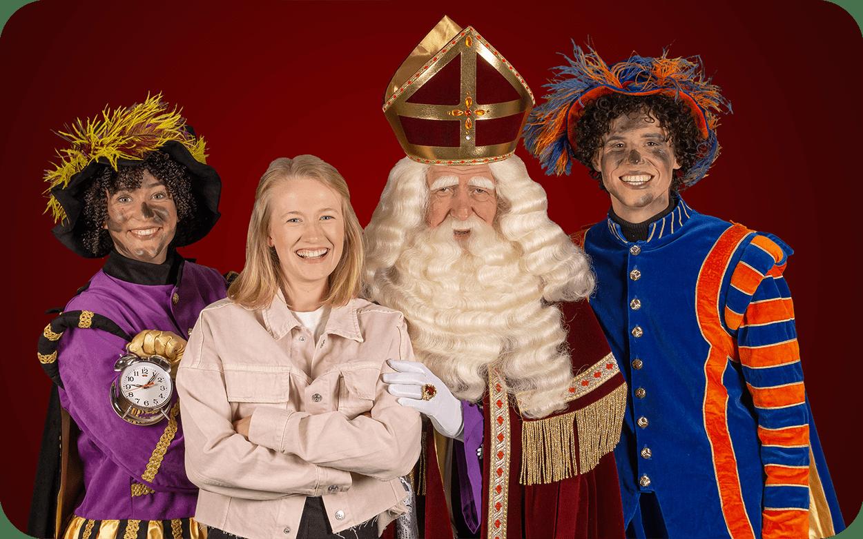 Sinterklaas en Hippe Pieten