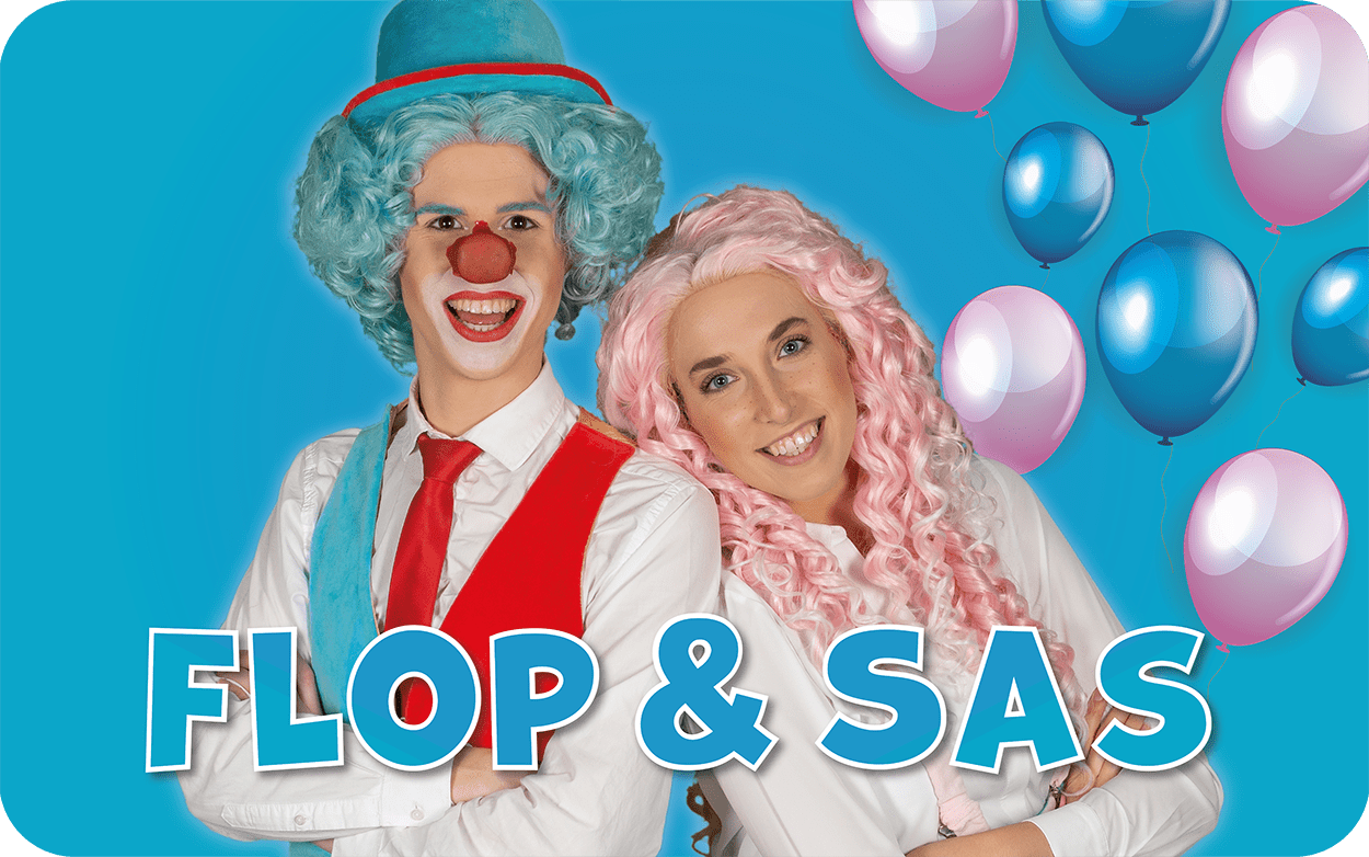 Clown Flop & Juf Sas show